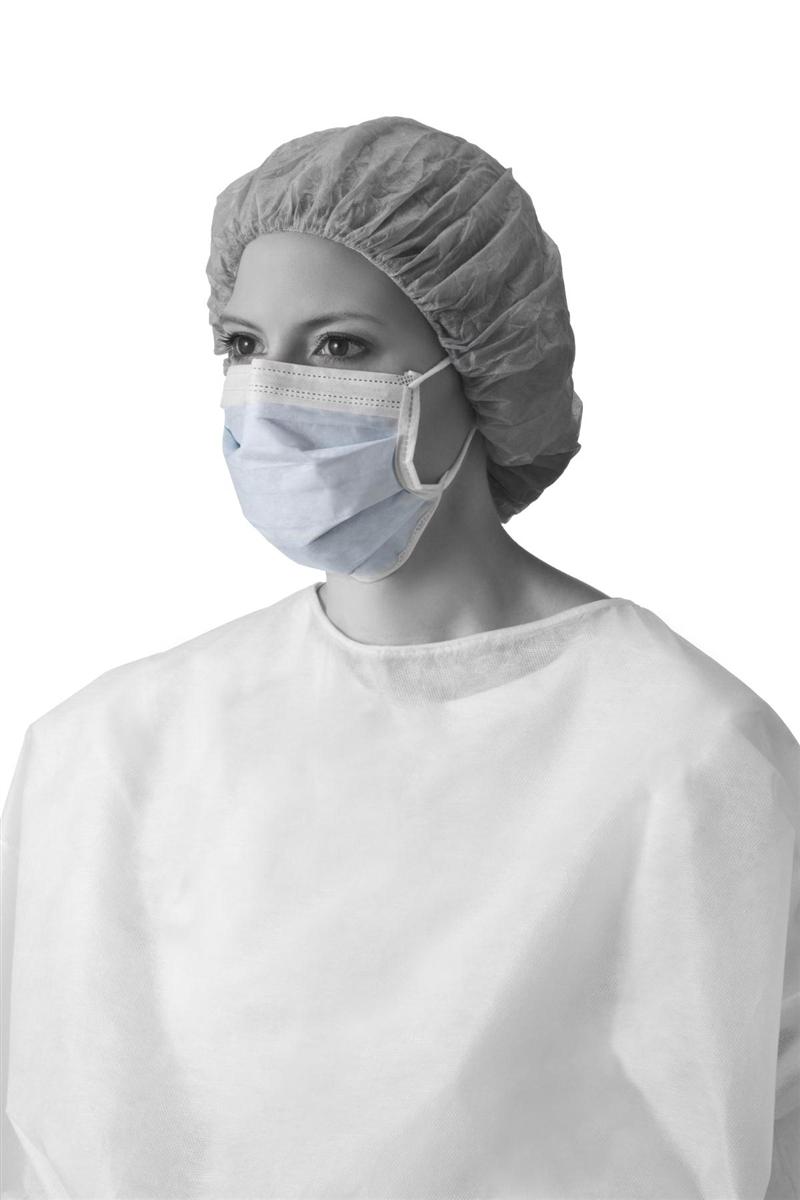 medline standard surgical masks