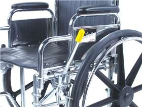 AliMed Wheelchair Brake Lever Extenders
