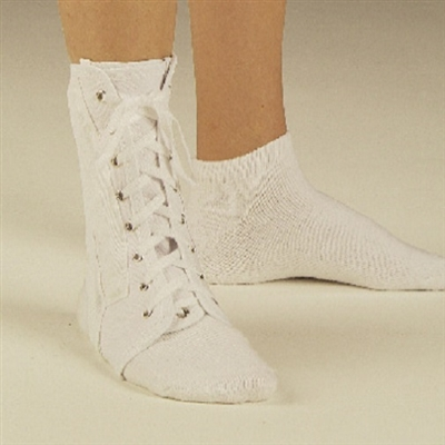 DeRoyal 8761-01 Canvas Lace-Up Ankle Brace