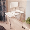 Carex  A83031 Transfer Bench with Commode