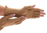 AliMed Isotoner Therapeutic Gloves, Open Finger