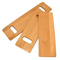 "AliMed Maple Transfer Board Stress-tested to 300 lbs. - 24"", Qty : 1 Each"