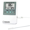 Apothecary 29791 Traceable Memory Monitoring Air Temperature Thermometer with Alarm