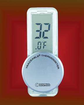Apothecary 29794 Econo Traceable Refrigerator Thermometer