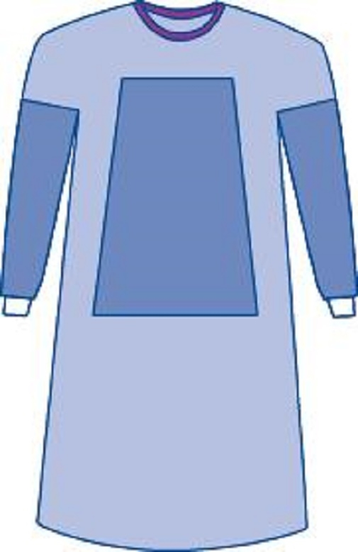 Medline Sterile Fabric-Reinforced Eclipse Surgical Gowns