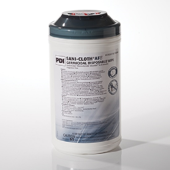 health care logistics 18578 sani cloth af3 germicidal wipes