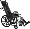 Professional Medical Imports Full Reclining Wheelchair 22 inch - 1 Each
