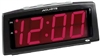LS&S 101012 Red Digits LED Alarm Clock