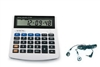 LS&S 221047 10 Digit Talking Calculator With Earbud