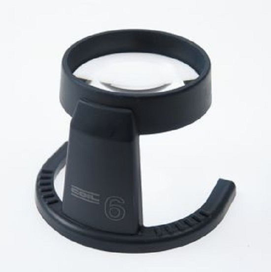 COIL Large Aspheric Stand Reader 2.8x//7.3D