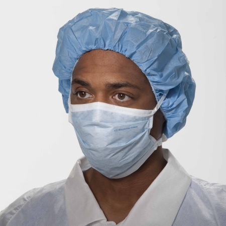 Touch Soft Mask 47500 Ties Surgical Pleated Ii