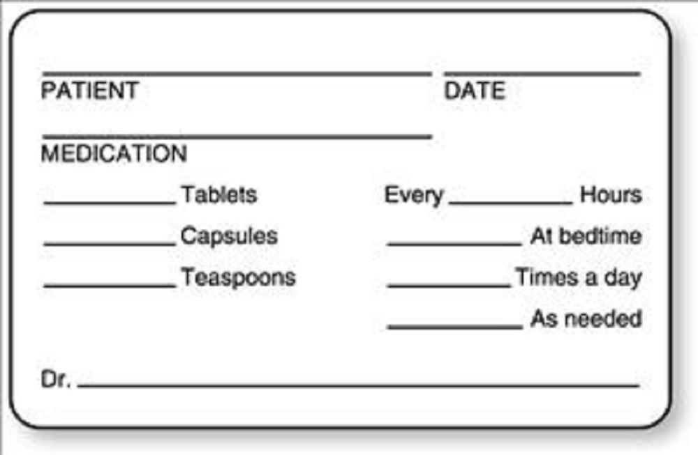 United Ad Label Fc403 Patient Date Medication Instruction Label
