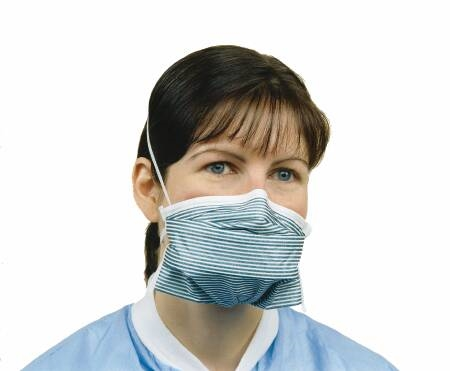 Headband Most cs N95 Respirator Pleated Mask 210 Surgical Particulate Fits Mck Pfl 319838 One Size