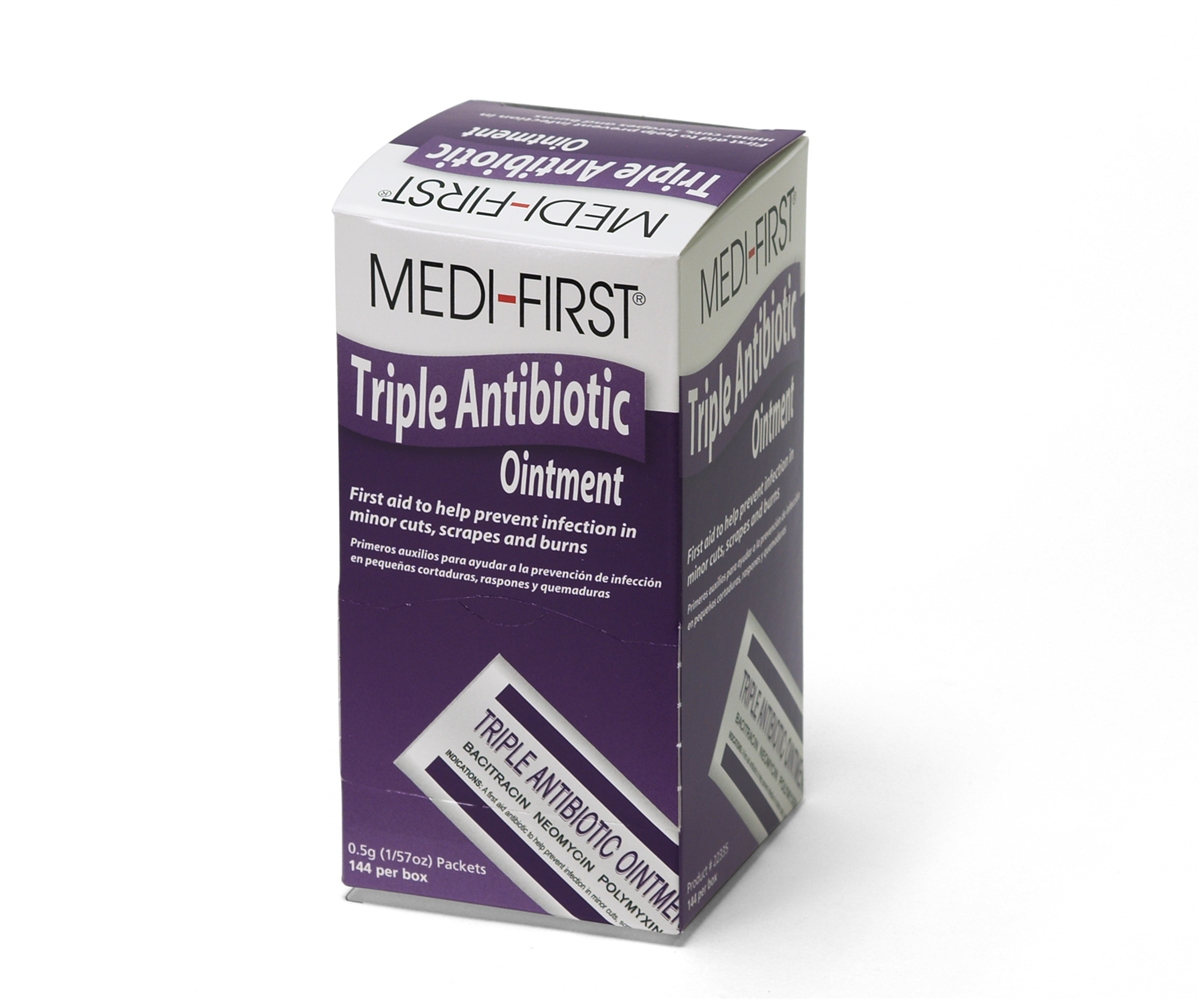 Unifirst First Aid Corporation 22335 Triple Antibiotic Ointment 1/32 Oz