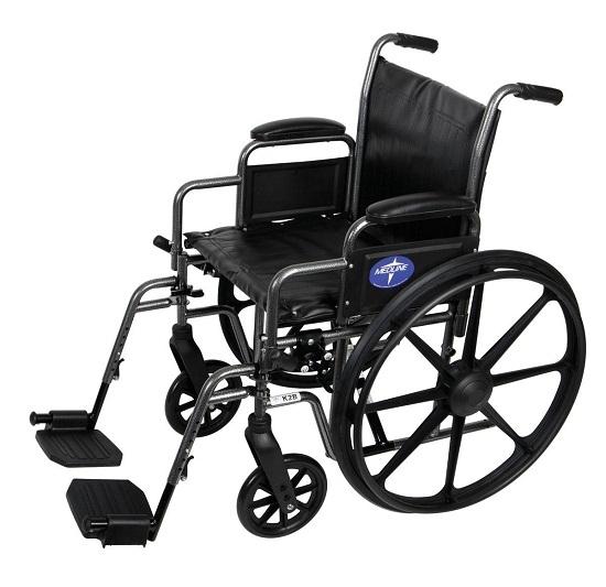 Medline K2 Basic Wheelchairs Vinyl Removable Desk Length