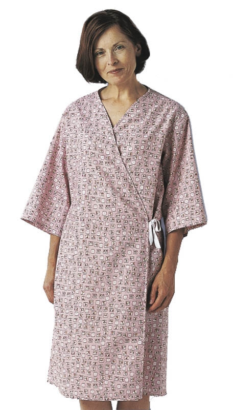 Mammography Patient Gowns, Front Open