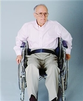 Medline Easy-Release Nylon Wheelchair Belts-1 Each