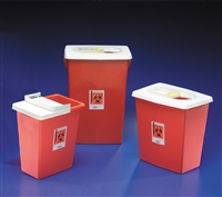 Covidien 8980S Sharps Containers - Red