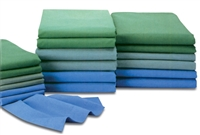 Medline MDTOS4P90CEI Reusable T180 OR Sheets (Size-55X90) - Color- Ceil Blue
