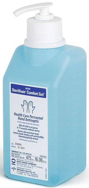 Medline Msc097063 Sterillium Comfort Gel Hand Sanitizers 475 Ml