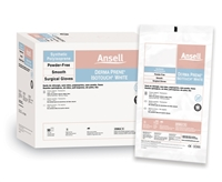 Ansell Healthcare 20685975 Derma Prene Isotouch Hydrosoft PF White Surgical - Gloves