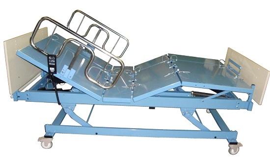 big boyz qp3848 bariatric beds ,750 lb, queens pride, convert