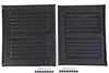 "Medline WCA806927BLKS 20"" Wheelchair Upholstery Set"