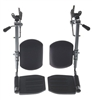 Pair of Wheelchair Elevating Legrests-Gray product code WCA806985E
