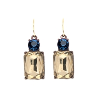 Clear Smoke Earrings - LTE08C