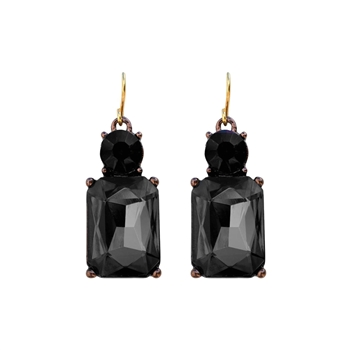Jet Earrings - LTE08J