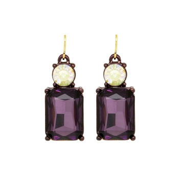 Purple Earrings - LTE08U