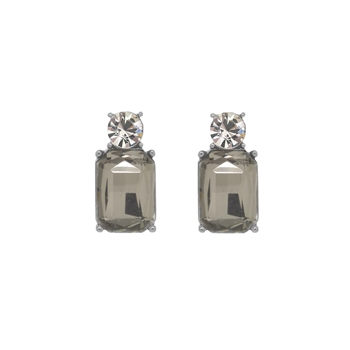 Mini Slate Gem Earrings - LTE10S