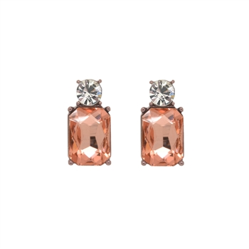Mini Rose Gem Earrings - LTE11R