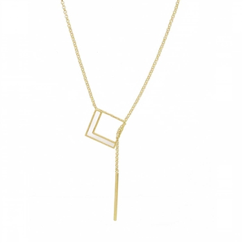 Thread Through Necklace - NLS64G