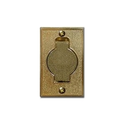 beam satin bronze flush mount/foor inlet valve