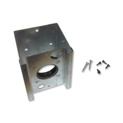 inlet valve surface metal mount box