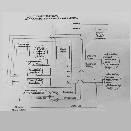 Beam 697C,2500,2900,sc3500 PC Board | CentralVacuumDirect.com | Beam Central Vacuum Wiring Diagram |  | Central Vacuum Direct