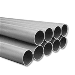 "vacuum pipe 5' x 2""  (9)  sticks 45 feet"