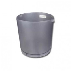 6988-02 Vacuflo small clear dust bin