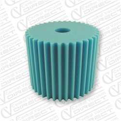 electrolux central vacuum foam filter