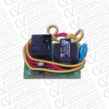 vacuflo central vacuum pc board
