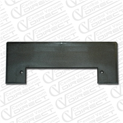 Black Central Vacuum Vacpan Trimplate