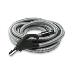 30 ft. low voltage central vacuum hose with on/off switch