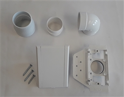 Valve Kit Without Pipe - Full-Door (White)