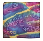 "Matzah Cover Multi Color Hebrew Word Pesach 15"" W x 14.5"" H"