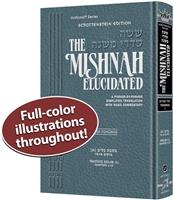 Schottenstein Edition of the Mishnah Elucidated - Tohoros Vol. 1