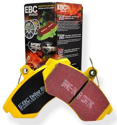 EBC Yellowstuff Street//Track Brake Pads Rear Honda//Acura DP41193R