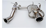INVIDIA Q300 EXHAUST: S2000 00-09 (SINGLE EXIT TO RIGHT)
