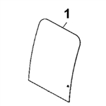 # 1. Front Windshield - C Series Zero Tail Swing (RTS) - JDHM3.1