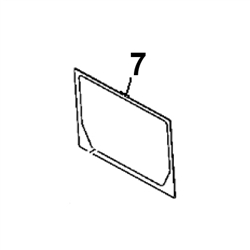 # 7. Back Glass - New D Series - JDHM6.7